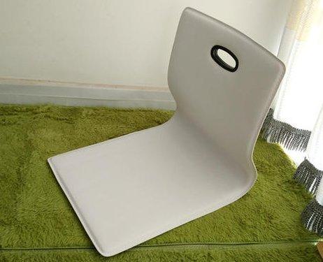 V-Style(ブイスタイル) 座椅子 シンプル リビング 子供部屋 和室 デスク インテリア (白)