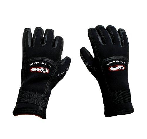 Body Glove EXO 5mm Neoprenhandschuh Kitehandschuh Surfhandschuh Tauchhandschuh Dive Kajak Boot Handschuh 6841 (XL)