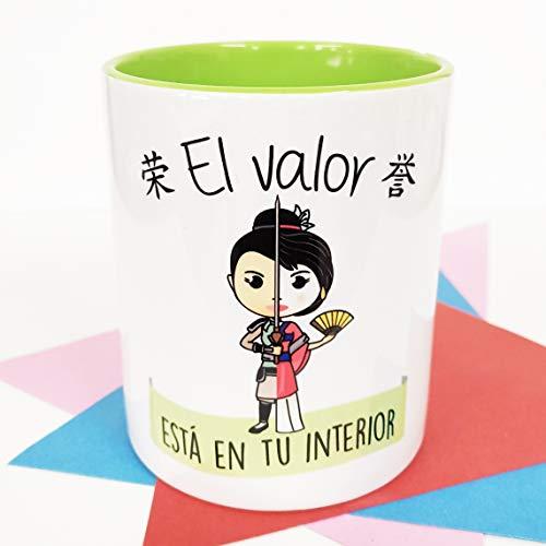 La Mente es Maravillosa - Taza con Frase y dibujo. Regalo original...