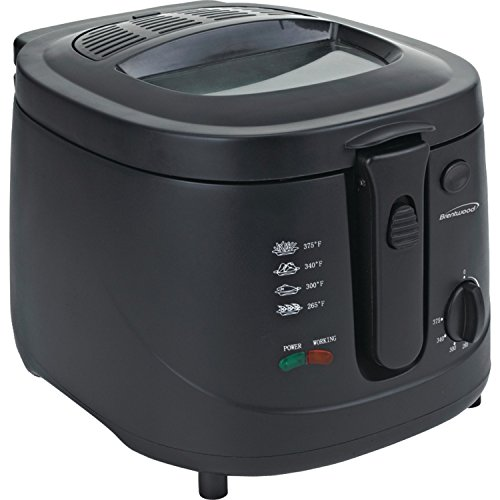 Brentwood DF-725 1500w 12-Cup Deep Fryer, Black
