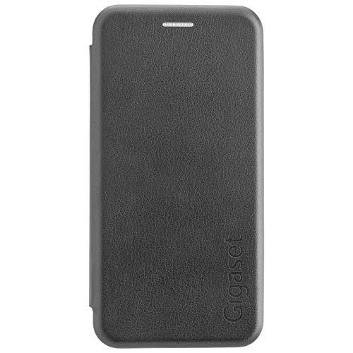 Gigaset Book Hülle (R&um Schutz vermeidet Schäden, anti-scratch, Full Body Schutzhülle, mit 360°, Zubehör geeignet für GS180 Smartphone) schwarz - 5 Zoll