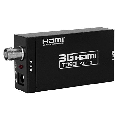 『Excelvan Mini HDMI to SDI変換器 コンバータ (HDMIをSDIに変換) ESD保護機能搭載』の1枚目の画像