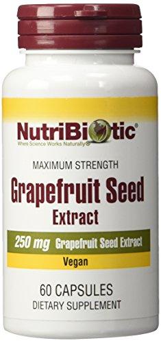 NutriBiotic Grapefruit Seed Extract, Maximum Strength, 250mg, 60 Capsules