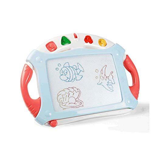 Agal Tablero de Dibujo Tablero de Dibujo de Escritura de Color de niños, Tablero de Dibujo de plástico magnético para Pintar Graffiti Tableta de Escritura (Color : Pink)