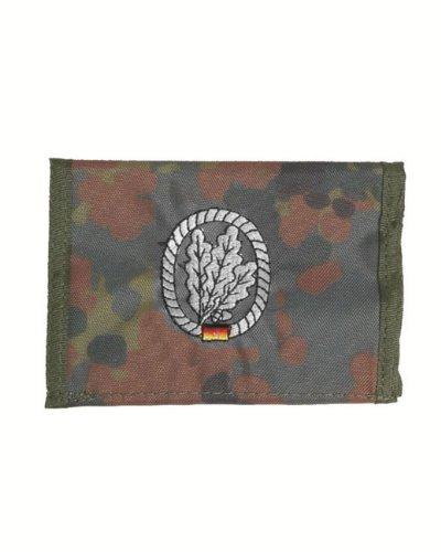 Coton camouflage jägertruppe portefeuille