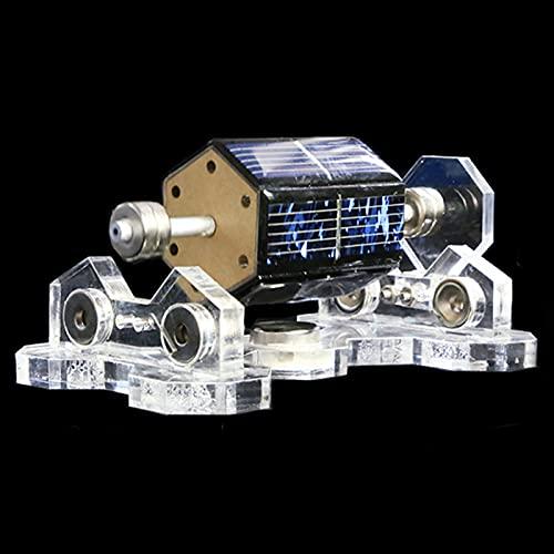 WYLX 300-1500R/Min Motormotor Solar De Levitación Magnética,Mendocino Magnético Levitación Solar Motor,Motor De Levitación Modelo Juguete Educativo para Niños