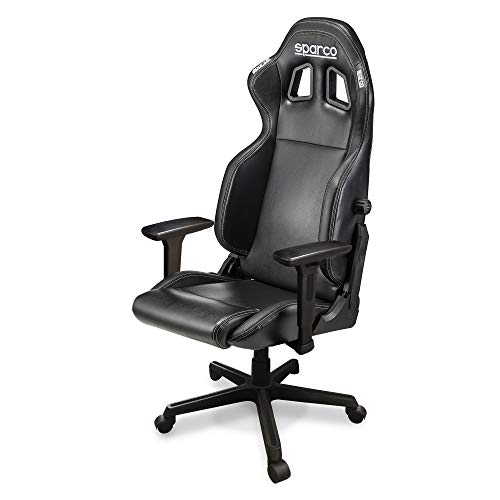 Sparco 00998NRNR Icon Office Asiento, Negro