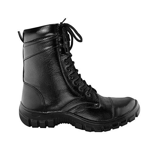 Blinder Black Long Boots for Men