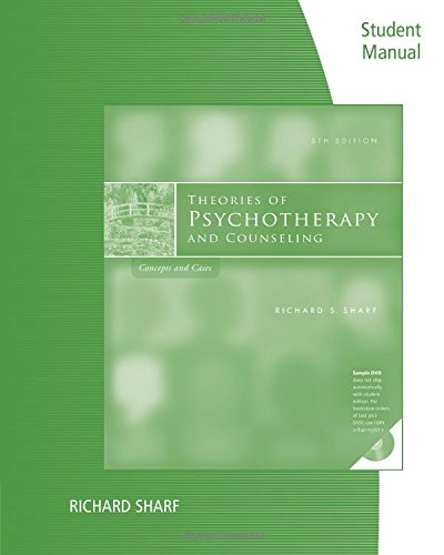 Student Manual for Sharf's Theories of Psychotherapy &...