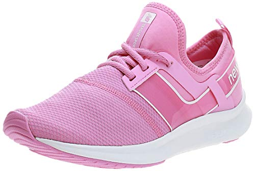 New Balance Women's FuelCore Nergize Sport V1 Sneaker, Candy Pink/White, 8