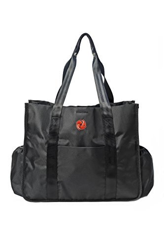 Best Premium Gym Tote Bag by Live Well 360 - Made from Ballistic Nylon - Multiple Compartments & Durable Material for Perfect Fitness and Athletic Tote Bag, Diaper Bag, Work Bag