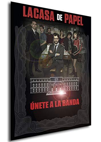 Instabuy Poster La casa de Papel - Cartel de Teatro (A) - A3...
