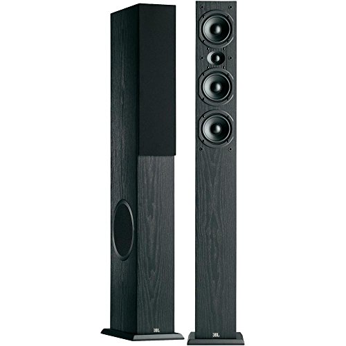 Best Price! JBL Loft 50 Three-Way Dual 6-1/2 Floorstanding Loudspeaker - Pair (Black)