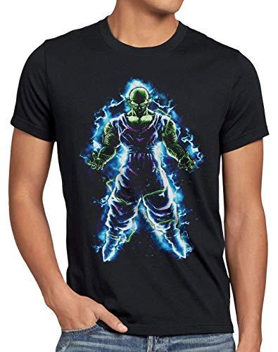 style3 Piccolo Herren T-Shirt Roshi Ball z Roshi Songoku, Größe:XXL