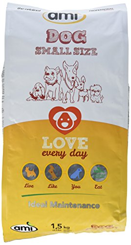 AMI Dog Small Size, 1er Pack (1 x 1.5 kg)
