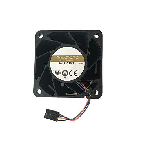 SAUJNN Servidor CPU Procesador Enfriador SR650 Kit NO CPU Disipador de calor y ventilador 7XG7A05580 01KP655 01KP692 (ventilador)