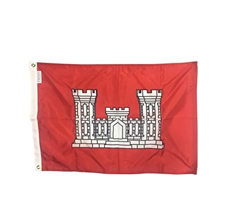 Army Engineer Flag (2x3')