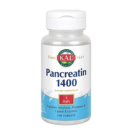 KAL Pancreatin 1400 mg | 100 Tablets
