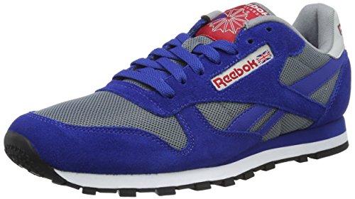 Reebok Herren Classic Sport Clean Sneakers, Blau (Asteroid Dust/Grey), 42.5 EU