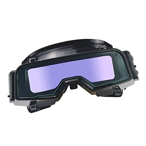 Hellery 1x Gafas de Seguridad de Soldador Ajustables para Soldadores