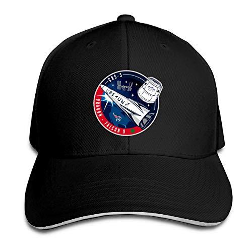 Hui-Shop Gorra de béisbol Trucker con Logo de la NASA Crs 5