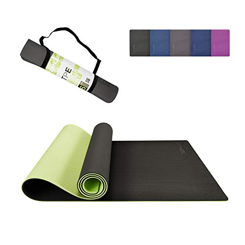 TOPLUS Yoga Mat - Upgraded Yoga Mat For Viniyoga Eco Friendly Non-Slip Exercise & Fitness Mat with Carrying Strap, Workout...