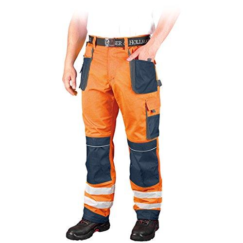 Leber&Hollman Warnschutz Bundhose LH-FMNX-T 46-62 Warnschutzhose Schutzhose Arbeitshose Hose Gr��e 50