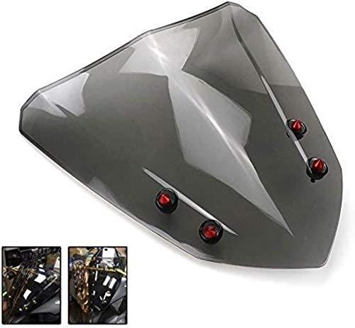 Jiewei Fuerte Parabrisas Material de Accesorios de Motos de la Motocicleta Parabrisas...