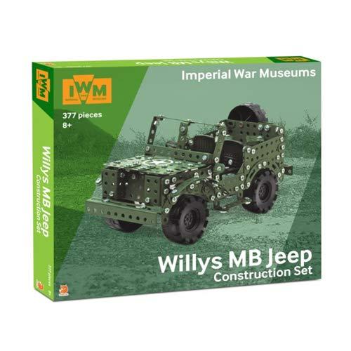 Willy's FOX025.UK.CS Imperial War Museums Willys MB Jeep Bausatz, verschieden