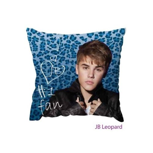 Cojín decorativo Justin Bieber Leopardo