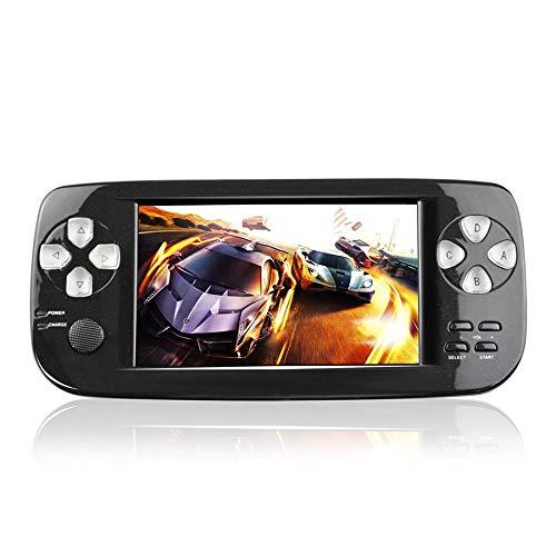 Anbernic Handheld Spielkonsole,Portable Spielkonsole mit 3000 Spielen und TV-Ausgang, Kamera, SD-Musik (schwarz)