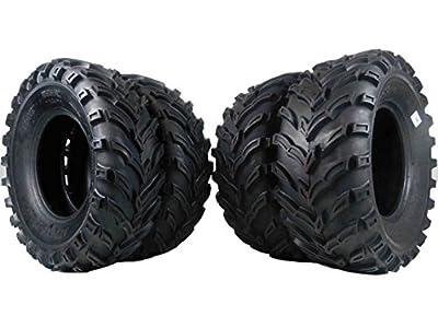 MASSFX MS ATV/UTV Tires 26x9-12 Front & 26x11-12 Rear, Set of 4 26x9x12 26x11x12
