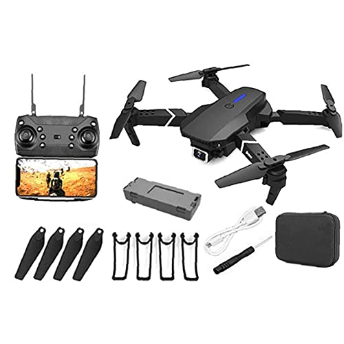 EElabper GPS Drone E88 PRO per Adulti 4K Camera Pieghevole in Diretta Video del ronzio RC Quadcopter dei velivoli con 1Battery