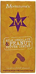 Montezuma'S Milk Chocolate Peanut Butter Centre Bar (Pack Of 12