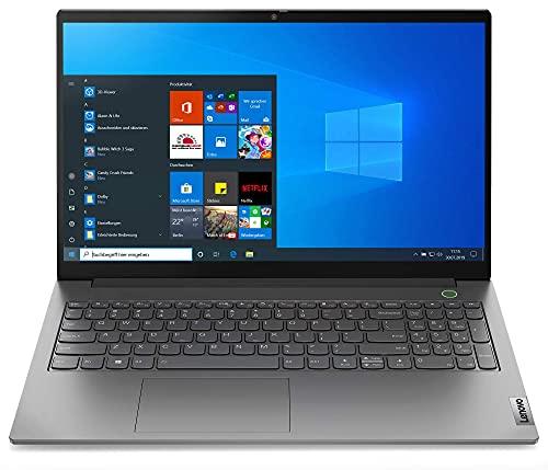 Lenovo ThinkBook - 15,6' FHD - Ryzen 5 5500U - 16GB RAM - 500GB SSD - beleuchtete Tastatur - Windows 10 Pro #mit Funkmaus +Notebooktasche