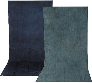 Impact Wendbarer Musselin Hintergrund (30 x 30 cm, Himmelblau/Aqua)
