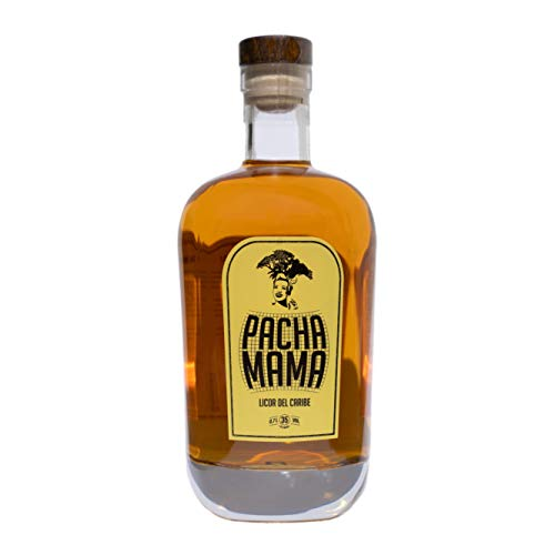 Pacha Mama - Rum Elixier aus der Karibik mit Honig/Gewürzen/Kräutern/Hölzer/Moskatelwein/Aphrodisiakum/Mamajuana/Ohne künstliche Aromen (0.7 l)