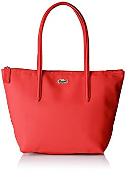 Lacoste NF2037, Sac Bandouliere Femme, Rouge (High Risk Red), 14.5x24.5x23.5 cm (W x H x L)