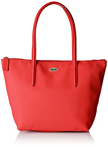 Lacoste NF2037, Sac Bandouliere Femme, Rouge (High Risk...
