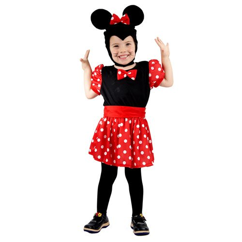 Toddler Mouse Girl 3Yrs (costume)