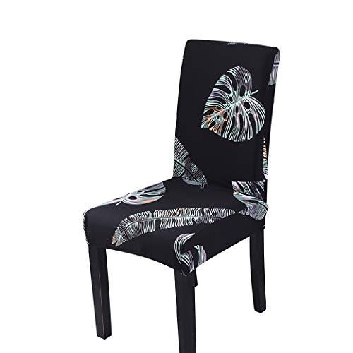 AMURAO Einfarbige Stuhlhülle Spandex Stretch Elastic Stuhlhussen Schonbezüge für Esszimmer Bankett Hotel Küche Hochzeit