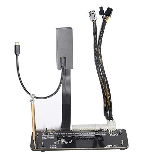 R43SG-TB3 PCIe 3.0 x16 PCI-e x16 to TB3 Extension Cable Laptop External Graphics Video Card Docking Station PCI-Express 16x Cables eGPU Adapter (25CM, R43SG-TB3) (25CM, R43SG-TB3)