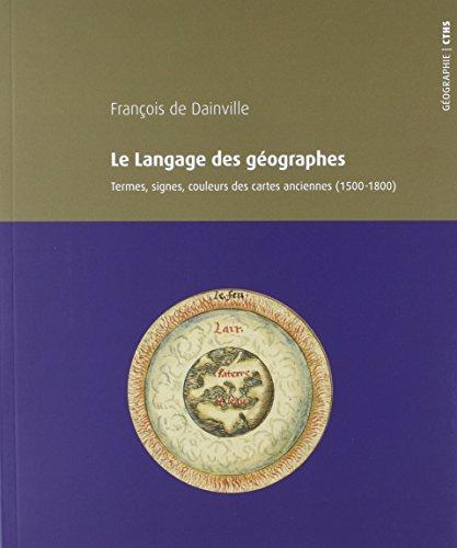 Le langage des géographes