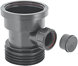 McAlpine DC1-BL-BO Drain Connector with Boss - Black