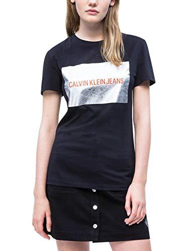 Calvin Klein CK Wmn TS Instit Black Silver