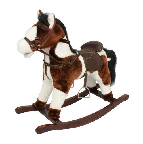 Bayer Chic 2000 405-01 Rocking Horse, Brown
