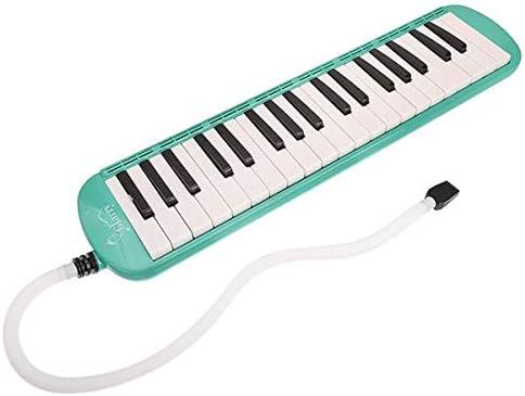BRLUCKY Home 37-Key Now free shipping Melodica with Green Mouthpiece Bag Hose Ranking TOP11