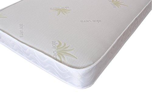 The eXtreme Comfort Basic Budget Memory Foam Spring Mattress, Choice of Fabric, Bamboo, Aloe Vera, Stress Free, Economic Memory Foam and Spring Mattress