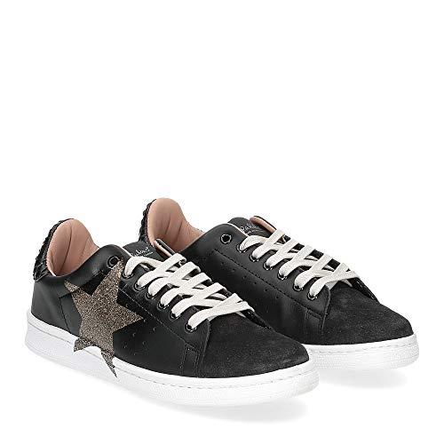 Nira rubens - nira rubens daiquiri dast160 sneaker nera stella boa black glitter - 37
