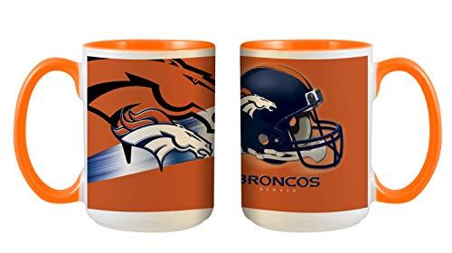 Denver Broncos NFL 3D Inner Color Tasse, Becher, Mug 445ml